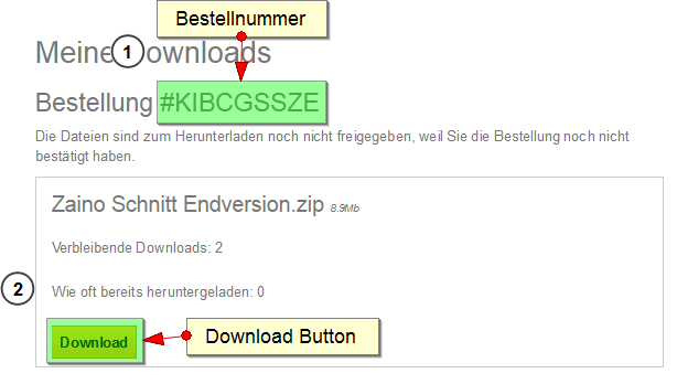 Meine Downloads
