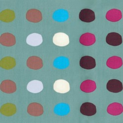 Bio-Baumwolle, Popeline fein - C.Pauli Bubbles, India ink
