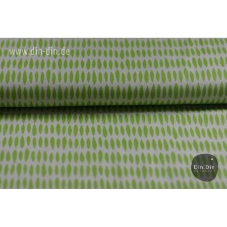Baumwolle - Blätter, grün