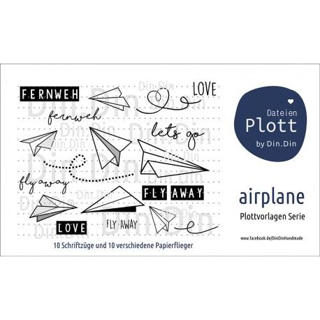 Airplane - Papierflieger