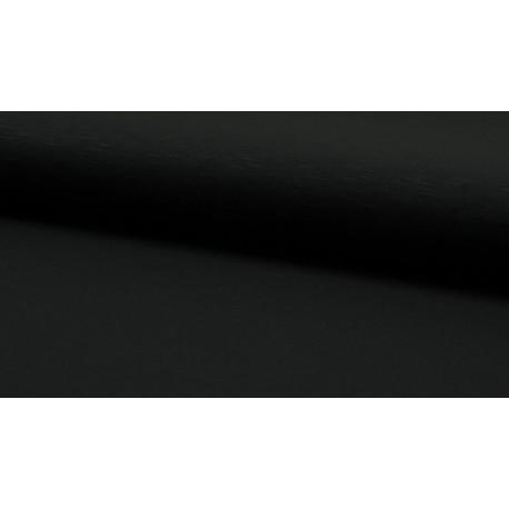 Slub-Viscose-Jersey - schwarz