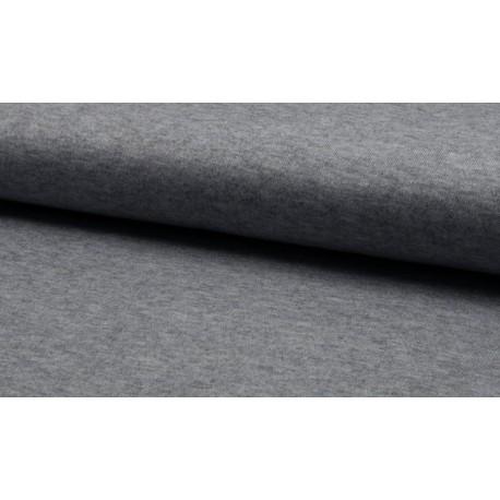 Jersey Strick - grau