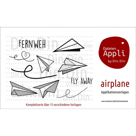 Air Plane Applikationsserie