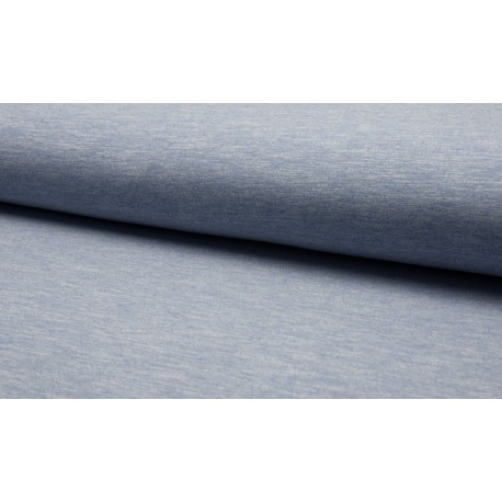 Sweat Melange - blau