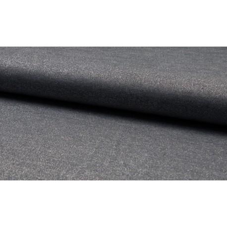 Glitzer Jersey - Sparkle dunkelgrau
