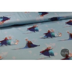 Baumwolljersey - Anna&Elsa Disney Digitaldruck