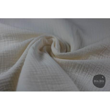 Musselin Baumwolle - natur