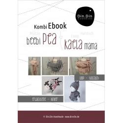 Ebook mama beebi pea & kaela-Knotenmütze Halstuch