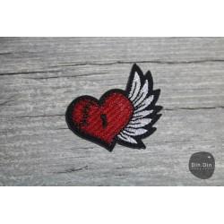 Patch - Herz, Flügel
