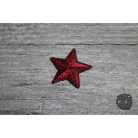 Patch - Stern klein, blau
