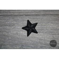 Patch - Stern klein, schwarz