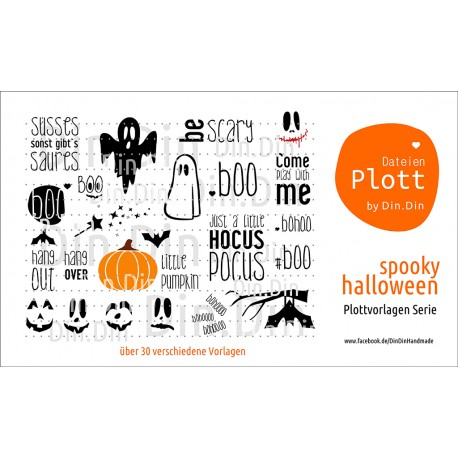 Spooky Halloween Serie