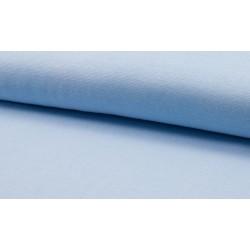 Feinstrick Bündchen glatt, hellblau