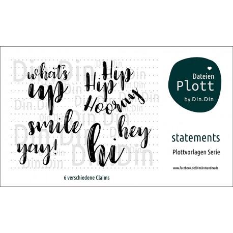 Statements II