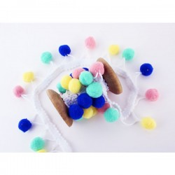 Candy Pompons - Cuite, 20mm