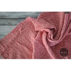 Musselin Baumwolle Crosses - rosé
