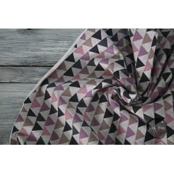 Sweat Fredo Geometric - lila/taupe