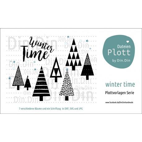 """Plotterdatei """"Winter Time"""""""