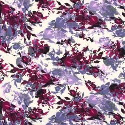Crepe Print Floral