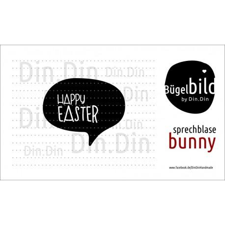 Sprechblase Happy Easter