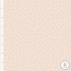 Baumwolljersey - Triangle rosé - Design von Elvelyckan