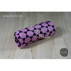 Baumwolljersey - Pisa geometrics - rosa