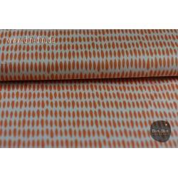 Baumwolle - Blätter, orange