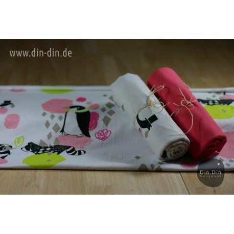 Baumwolljersey - Candy Pink, Design by Viljamin Puoti