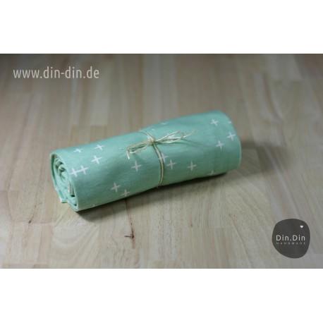 Birch Double Gauze - Bio-Baumwolljersey - Kreuze Mint