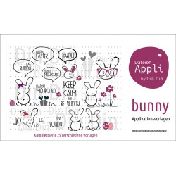 Bunny Applikationsserie