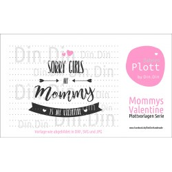 "Plotterdatei ""Mommy´s Valentine"""
