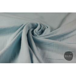 Musselin Baumwolle - hellblau