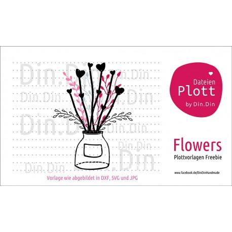 """Plotterdatei """"Blumenstrauß"""""""