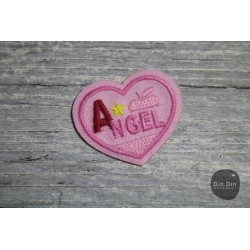 Patch - Angel Button, rosa