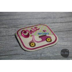 Patch - Chick Roller Button