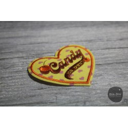 Patch - Candy Heart Button