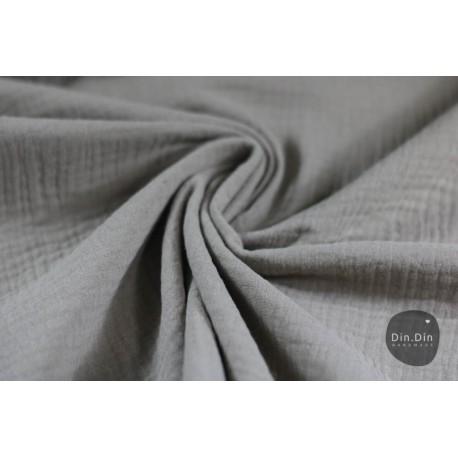 Musselin Baumwolle - khaki
