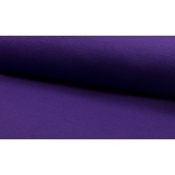 Feinstrick Bündchen glatt, purple