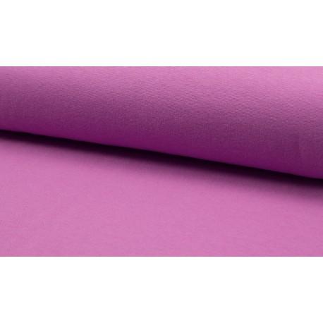 Feinstrick Bündchen glatt, purple hell
