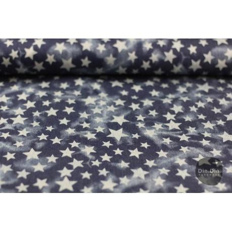 Jeans Vintage Sterne, dunkelblau