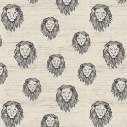 Sommersweat Lion - beige meliert