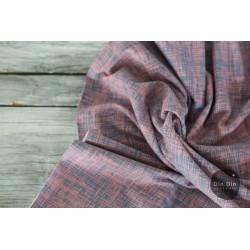 Baumwolljersey Vintage Summer Stripes - altrosa/jeans