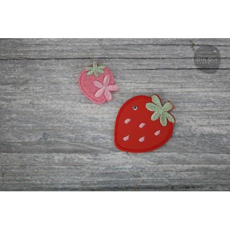 Patch - Erdbeere 2er Set