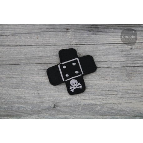 Patch - Pflaster groß - schwarz