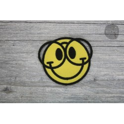 Patch - Smiley Nerd Brille