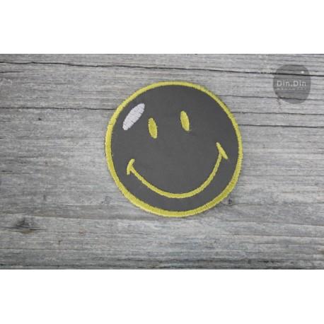 Patch - Smiley Reflektor Größe je: ca.7 x 7cm