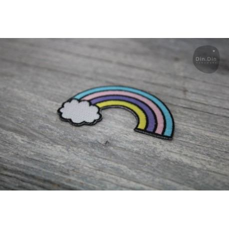 Patch - Regenbogen Größe: ca.6 x 4cm