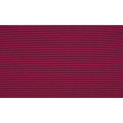 Baumwolljersey - Streifen taupe/rosé