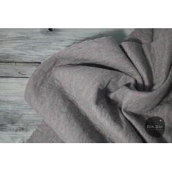 Stepp-Sweat Miow Undercover - grau/rosa Glitzer