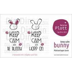 Bunny Keep Calm
